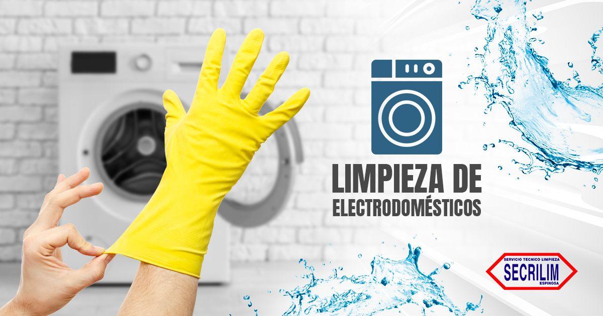 Limpieza de electrodomésticos; higiene y funcionamiento óptimo