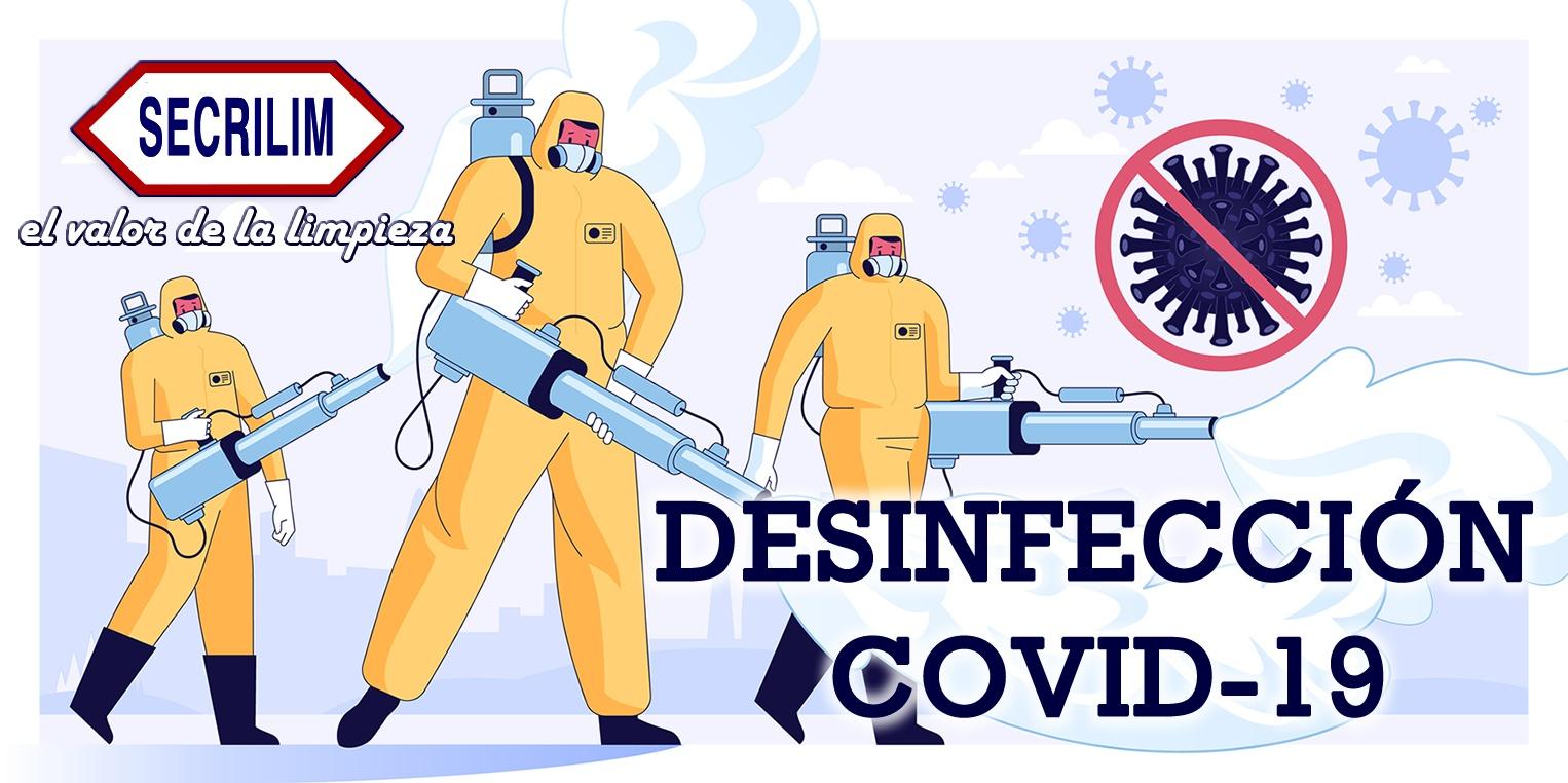 Nuevos servicios de desinfección Covid-19