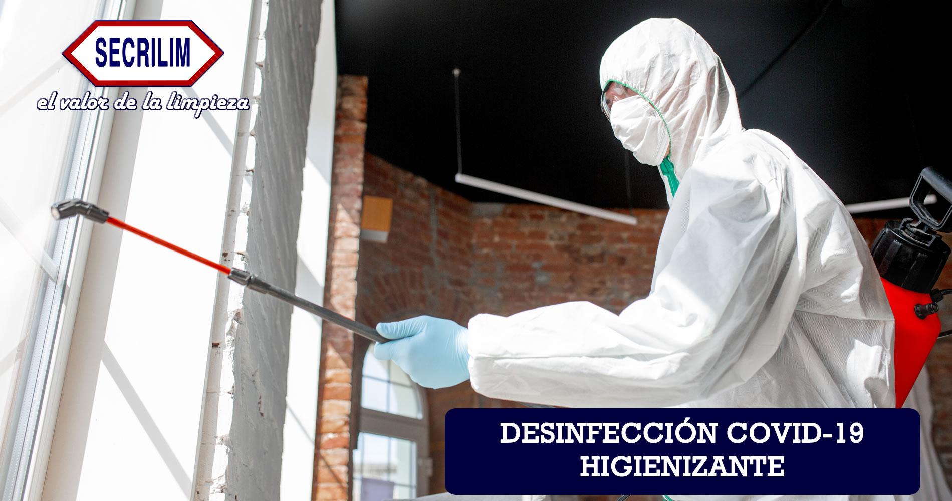 desinfección covid-19 higienizante