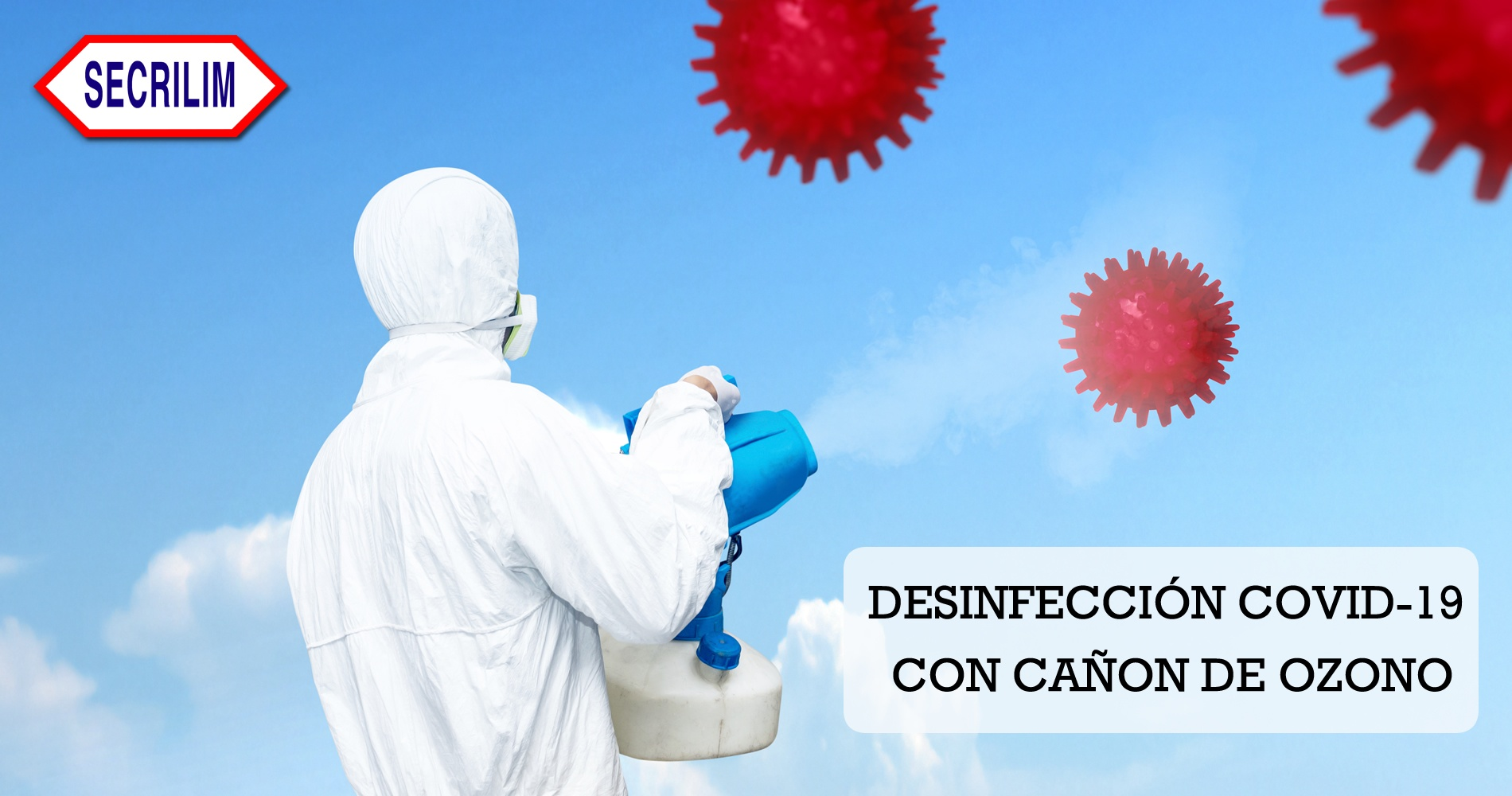 desinfeccion covid-19 ozono